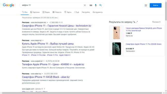 Использование Google Рекламы в сео продвижении